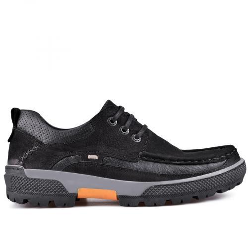 мъжки ежедневни обувки черни 0128791