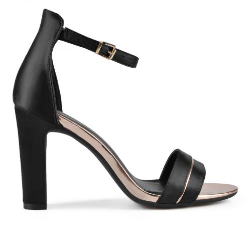 дамски елегантни сандали черни 0137657