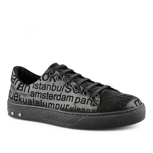 дамски ежедневни обувки черни 0141150