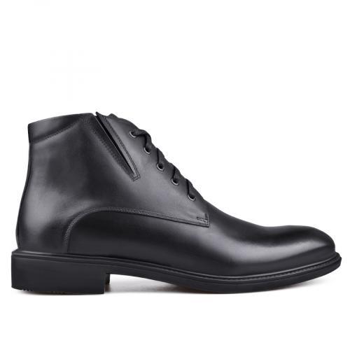 мъжки елегантни боти  черни 0132812