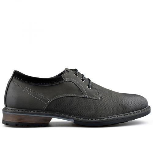 мъжки ежедневни обувки черни 0139075