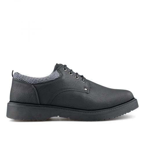 мъжки ежедневни обувки черни 0139089