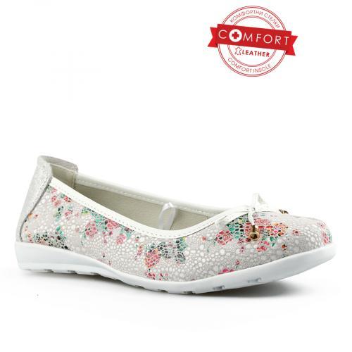 дамски ежедневни обувки бели 0142522