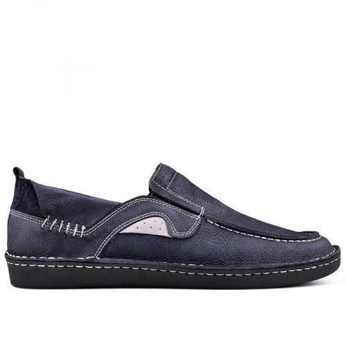 мъжки ежедневни обувки сини 0131011