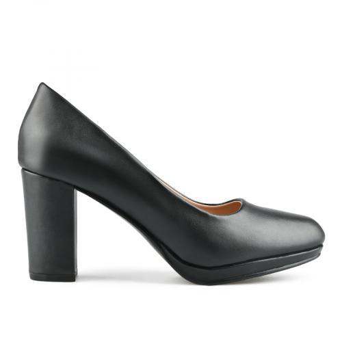 дамски елегантни обувки черни 0143306