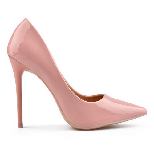 дамски елегантни обувки розови 0137697