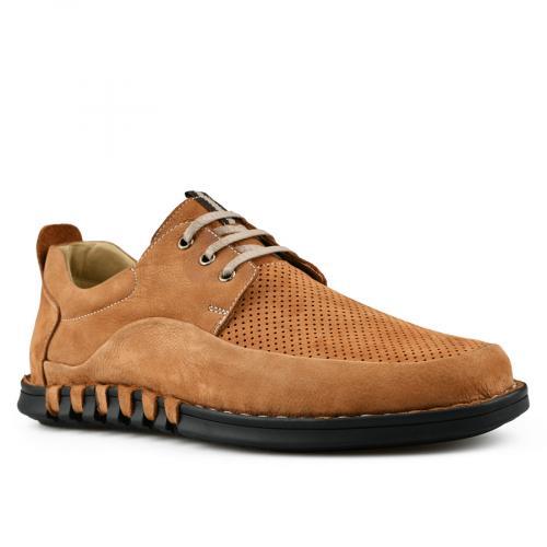 мъжки ежедневни обувки кафяви 0144268