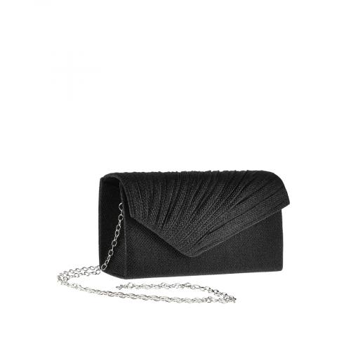 дамска елегантна чанта черна 0143812