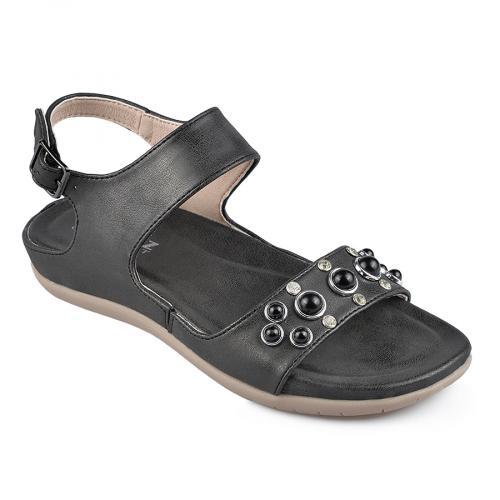 дамски ежедневни сандали черни 0137315