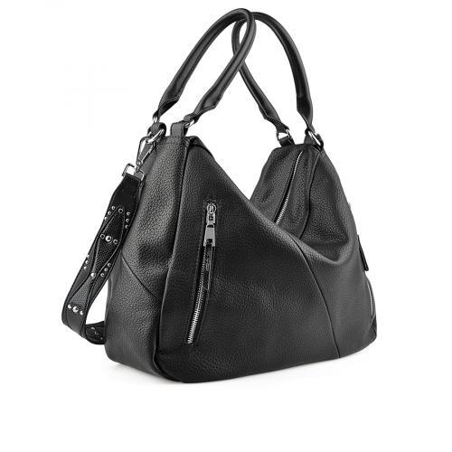 дамска ежедневна чанта черна 0137947
