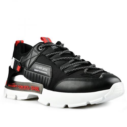 мъжки ежедневни обувки черни 0142631