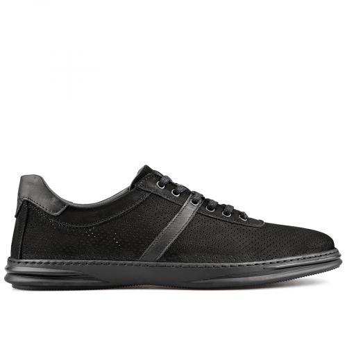 мъжки ежедневни обувки черни 0138290