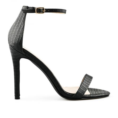 дамски елегантни сандали черни 0140049