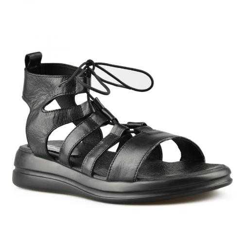 дамски ежедневни сандали черни 0144397