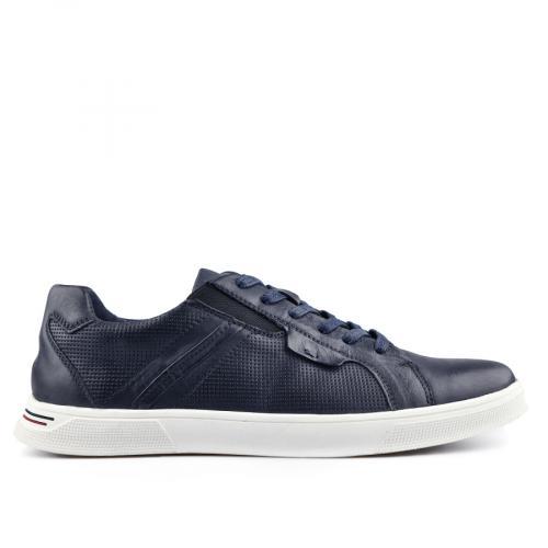мъжки ежедневни обувки сини 0140748