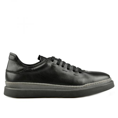 мъжки ежедневни обувки черни 0145312