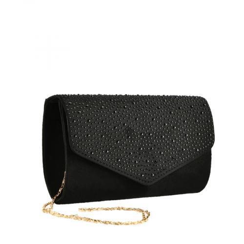 дамска елегантна чанта черна 0139862