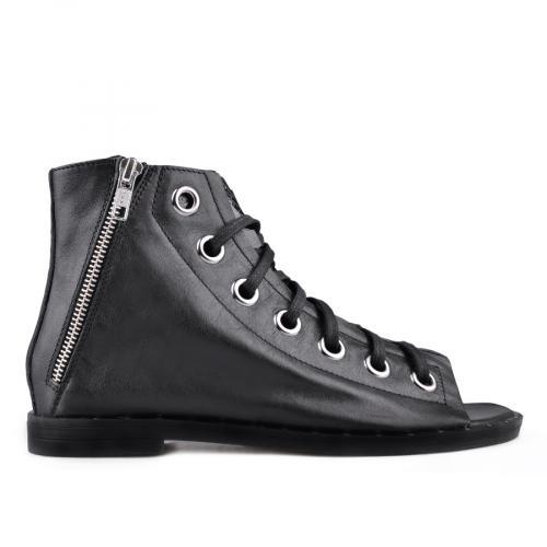 дамски ежедневни сандали черни 0135003
