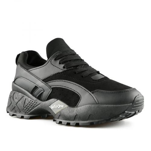дамски ежедневни обувки черни 0140312