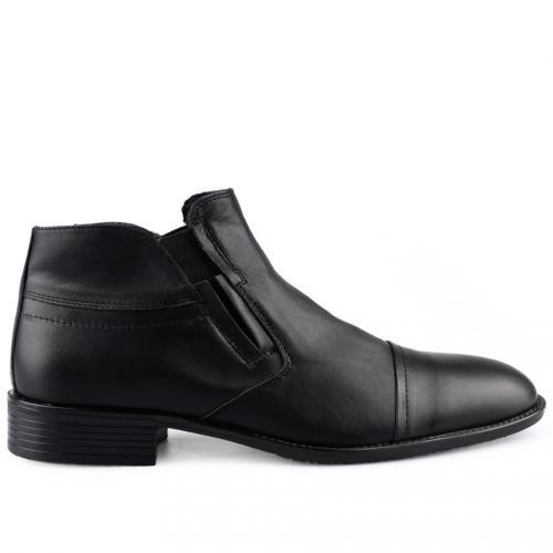 мъжки елегантни боти черни 0126054