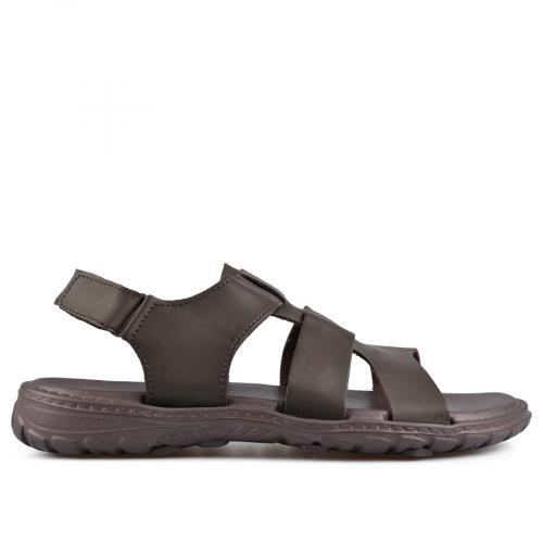 мъжки сандали кафяви 0137294