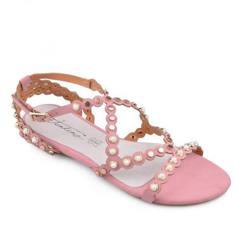 дамски ежедневни сандали розови 0134078