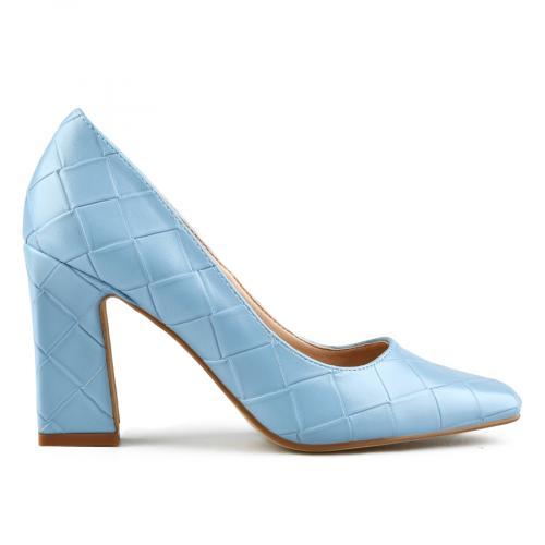 дамски елегантни обувки сини 0143101