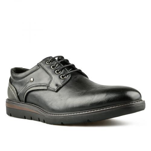 мъжки ежедневни обувки черни 0144933