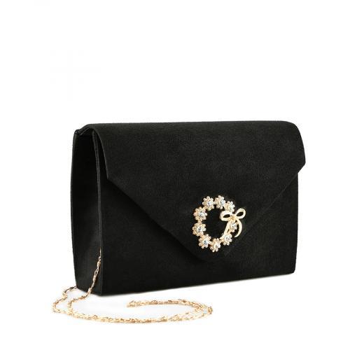 дамска елегантна чанта черна 0139893