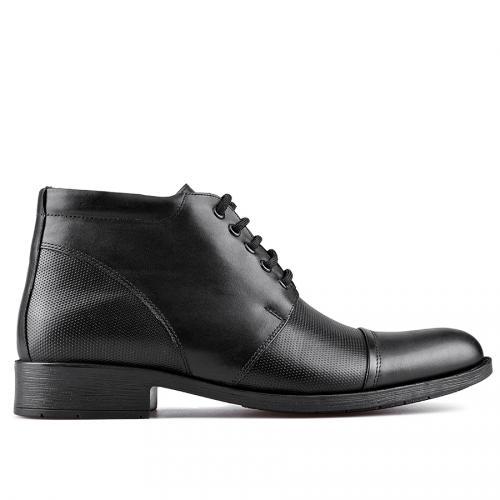 мъжки елегантни боти черни 0129037