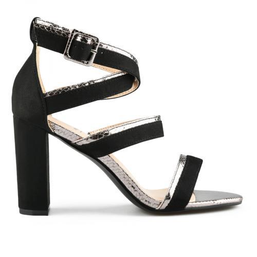дамски елегантни сандали черни 0144361