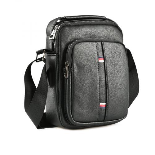 мъжка ежедневна чанта черна 0143877