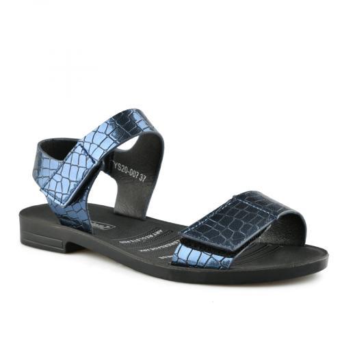 дамски ежедневни сандали сини 0140563