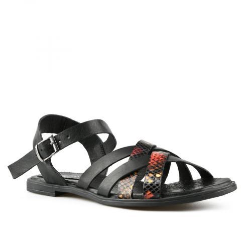 дамски ежедневни сандали черни  0144418