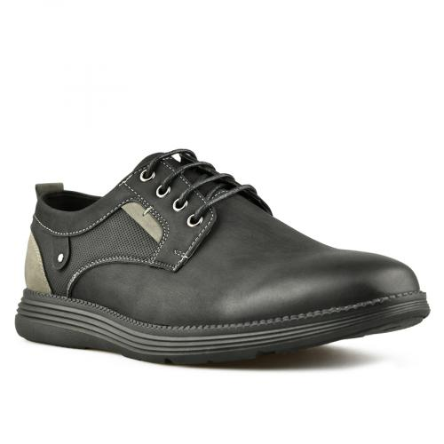 мъжки ежедневни обувки черни 0144931