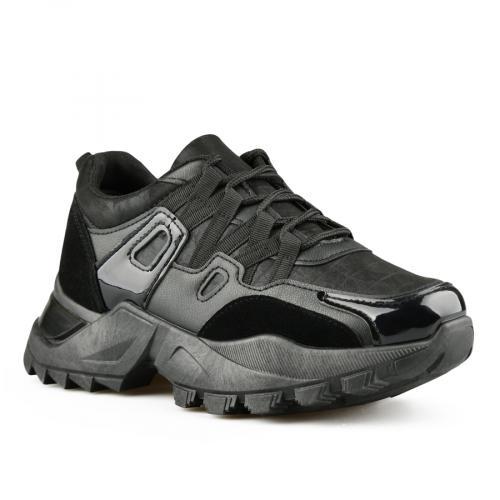 дамски ежедневни обувки черни 0141524