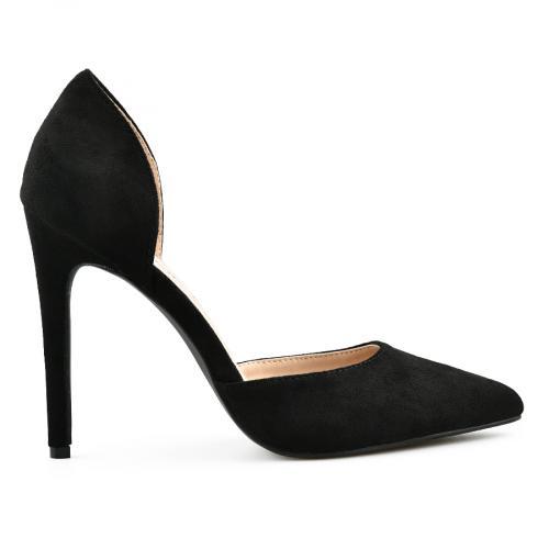 дамски елегантни обувки черни 0140075