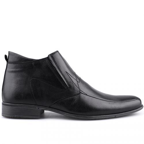 мъжки елегантни боти черни 0109232