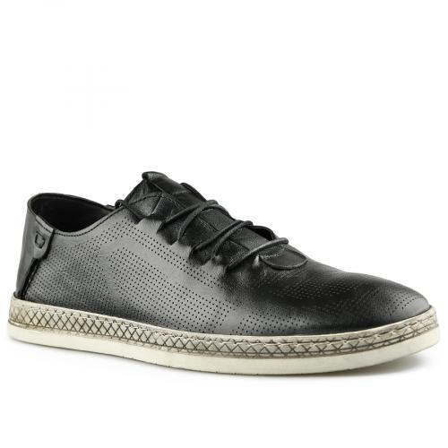 мъжки ежедневни обувки черни 0141189