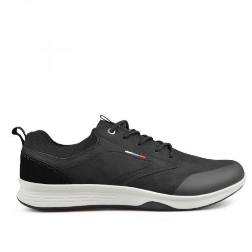 мъжки ежедневни обувки черни 0135601