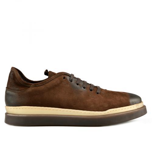мъжки ежедневни обувки кафяви 0145313