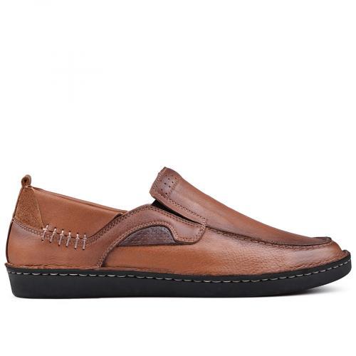 мъжки ежедневни обувки кафяви 0131009