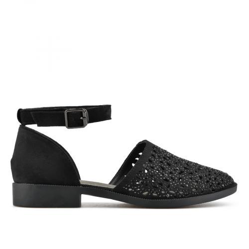 дамски ежедневни сандали черни 0140437