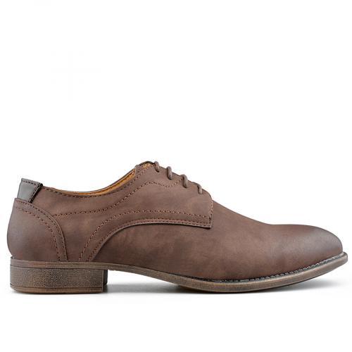 мъжки елегантни обувки кафяви 0139078