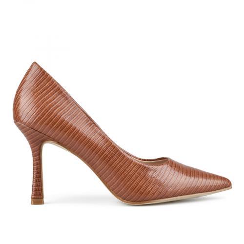 дамски елегантни обувки кафяви 0143216