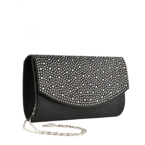 дамска елегантна чанта черна 0139867