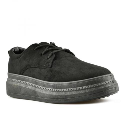 дамски ежедневни обувки черни 0144723