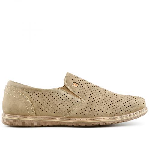 мъжки ежедневни обувки бежов 0140275