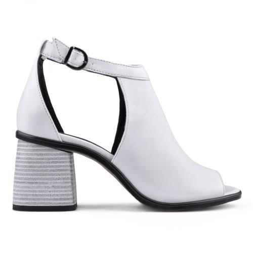 дамски елегантни сандали бели 0136379