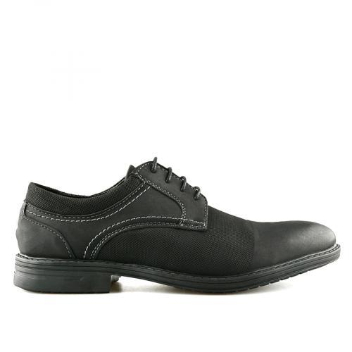 мъжки ежедневни обувки черни 0140544